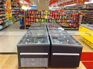 东莞欧雪直销超市卧式双用冷柜009款