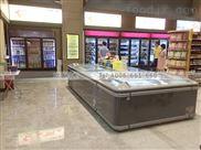 上海批发定做各类超市冷柜卧式岛柜