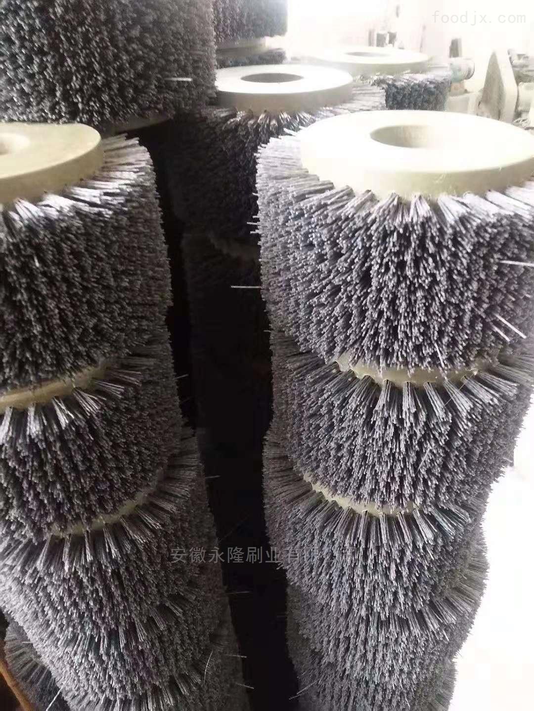 杜邦丝圆盘毛刷辊批量供应