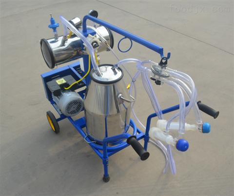 YZ-I型铁架真空泵式单桶脉冲式奶羊挤奶机