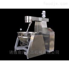 400L半自动手动加热行星炒锅设备
