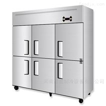 商丘四门六门冰箱漯河饭店厨房不锈钢冷冻柜