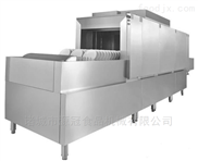 YGXW-007-厂家定制学校 工厂 用长龙式不锈钢洗碗机