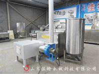 燃煤型豆腐干油炸机,豆制品专用油炸设备