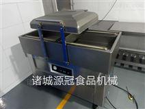 供应不锈钢400型食品双室真空包装机