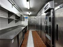 西安火锅店职工餐厅厨房工程厨房排烟系统