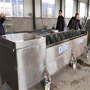 明超介紹自動洗土豆機效率高清洗草藥機器好