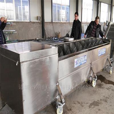 定制产品明超介绍自动清洗草药机器用于人参清洗机