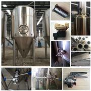 JNPJ-1.0日产1000L精酿啤酒生产线