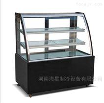 太原哪里有卖蛋糕柜 直角弧形甜糕点柜