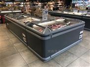 漯河周口超市组合岛柜 商用卧式展示冰柜
