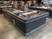 漯河周口超市組合島柜 商用臥式展示冰柜