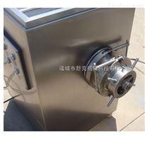 SJR-D120J连续式冻猪牛肉绞切机设备优质绞肉机