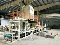 大型砂浆岩棉复合板生产设备安装调试操作