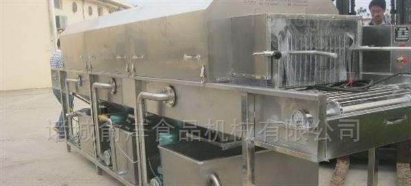 托盘热碱水去污设备洗筐机