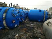 多台二手5吨搪瓷反应釜供应