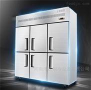 北京天津哪里有卖商用四门六门冰柜厨房冰箱