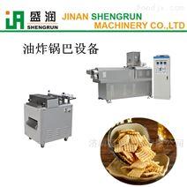 脆锅巴蔬菜卷油炸食品生产线-双螺杆膨化机