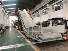 食品生产线SUS304不锈钢链板输送线定制生产