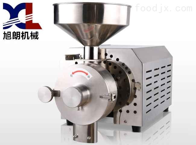 连轴电机五谷杂粮磨粉机,磨粉机品质厂家-旭朗机械