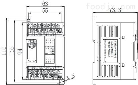 宁波信捷PLC XD3系列基本单元