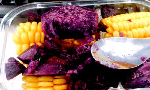紫薯成增收致富产业 打粉机、粉丝机让生产更安全
