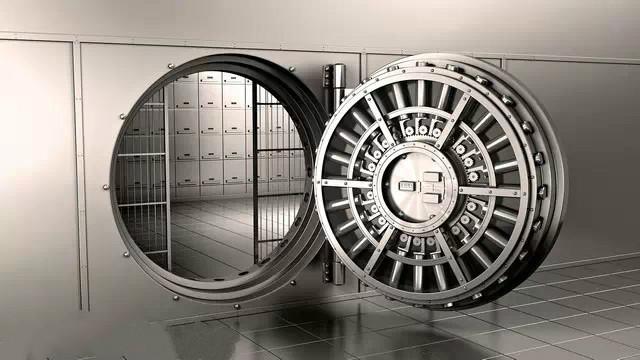 银行专用金库门