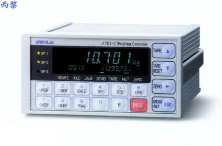 称重仪表f701精度传感器