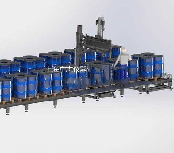 流动性液体四桶位自动灌装机